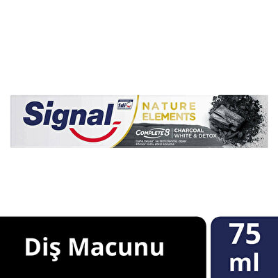 Nature Elements Kömür Diş Macunu 75 ml