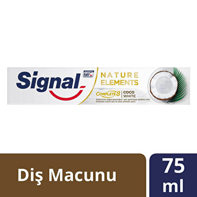 Nature Elements Hindistan Cevizi Diş Macunu 75 ml