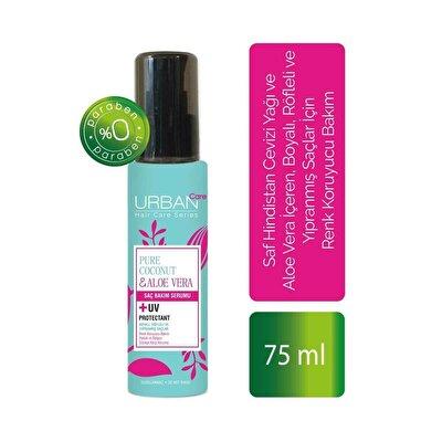 Saf Hindistan Cevizi Yağı ve Aloe Vera İçeren Renk Koruyucu Serum 75 ml