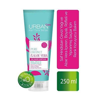 Saf Hindistan Cevizi Yağı ve Aloe Vera İçeren Renk Koruyucu Şampuan 250 ml