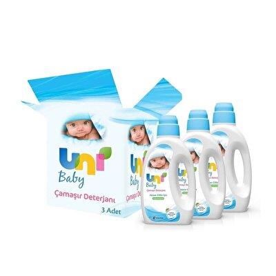 Çamaşır Deterjanı 3 Adet 1500 ml