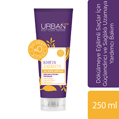 Biotin and Keratin Şampuanı 250 ml