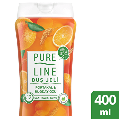 Portakal ve Buğday Özlü Duş Jeli 400 ml