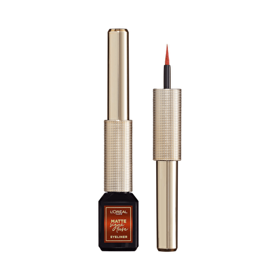 Matte Signature Eyeliner 07 Copper - Turuncu