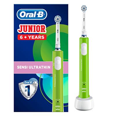 Junior 6 Yaş Üstü Green Elektrikli Diş Fırçası