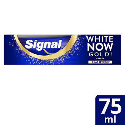 White Now Anında Beyazlık Gold Diş Macunu 75 ml