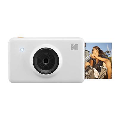 Mini Shot Ms-210 Beyaz Dijital Fotoğraf Makinesi