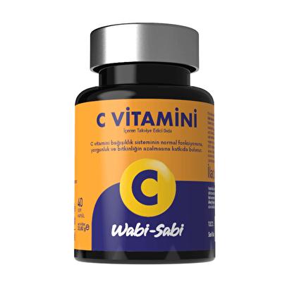 Vitamin C 40 Sert Kapsül
