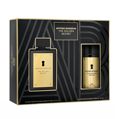 Golden Secret Men EDT 100 ml ve Deodorant 150 ml