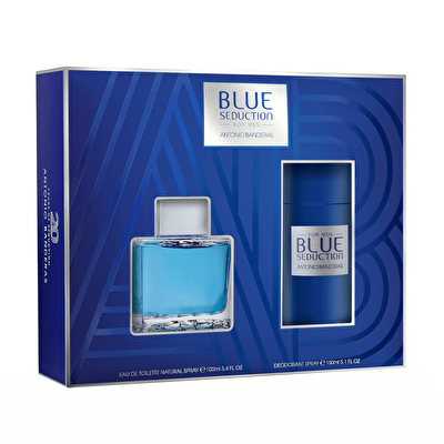Blue Seduction Men EDT 100 ml ve Deodorant 150 ml