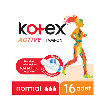 Active Tampon Normal  16 Adet