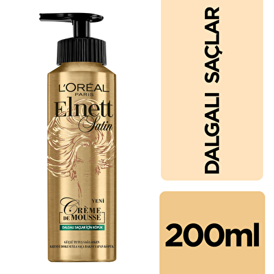 Dalgalı Saçlar için Köpük 200 ml