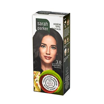 Koyu Kahve Krem Saç Boyası 3.0