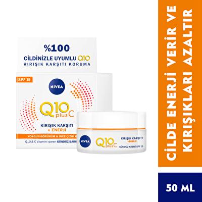 Q10 Enerji Gündüz Kremi 50 ml