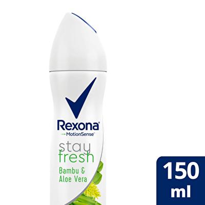 Aloe Vera ve Bamboo Kadın Deodorant 150 ml