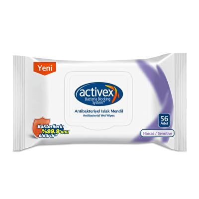 Antibakteriyel Islak Mendil Hassas 56 Adet