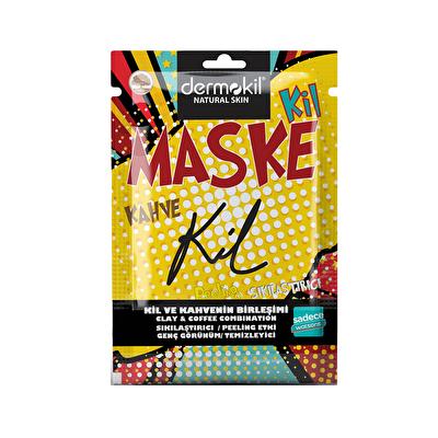 Kil ve Kahve Tek Kullanımlık Maske 15 ml