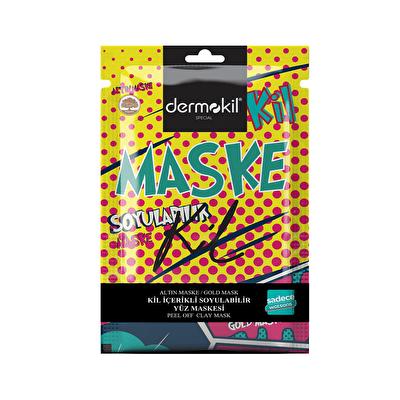 Altın ve Kil Soyulabilir Tek Kullanımlık Maske 15 ml