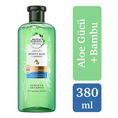 Sülfatsız Bambu Şampuan 380 ml