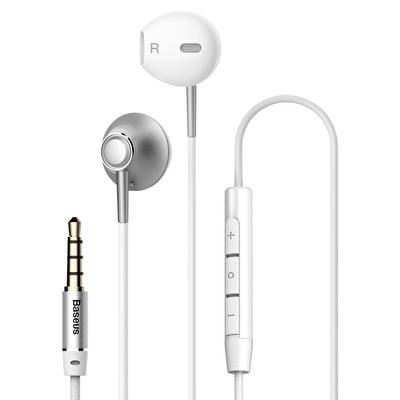 Encok H06  3.5mm  Mikrofonlu Kablolu Kulaklık Gümüş