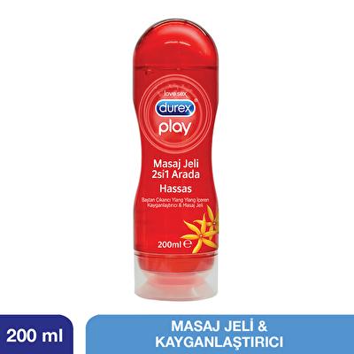 Play Hassas Masaj Jeli ve Kayganlaştırıcı 200 ml