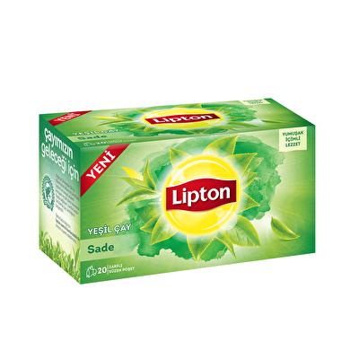 Berrak Yeşil Çay Sade Poşet Çay 20 Adet