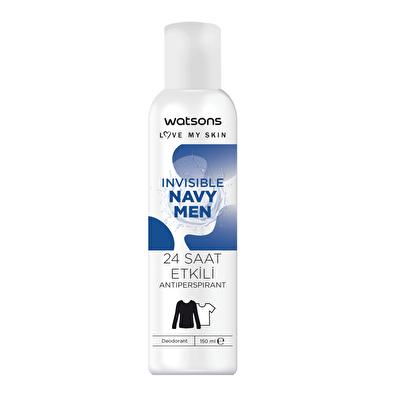 Invisible Navy Men Deodorant 150 ml