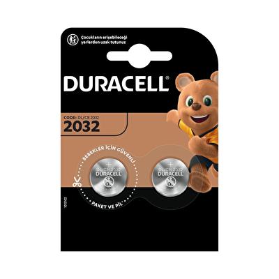 2032 Düğme Pil 3 Volt 2 Adet