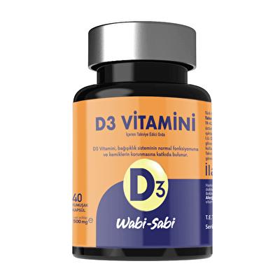 D3 Vitamini 40 Yumuşak Kapsül 500 mg