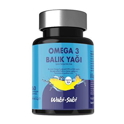 Yetişkinler İçin Omega 3 Balık Yağı 40 Yumuşak Kapsül 900 mg