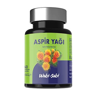Aspir Yağı İçeren Takviye Edici Gıda 40 Adet