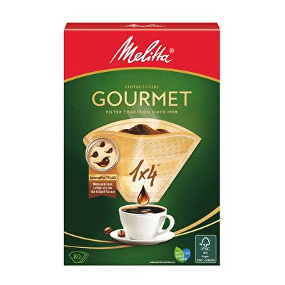 Gourmet 1x4 Filtre Kahve Kağıdı 80 Adet