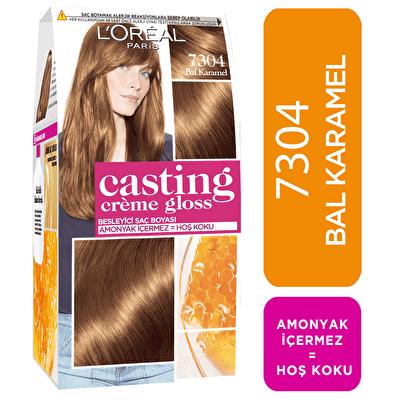Amonyaksız Besleyici Saç Boyası Bal Karamel 7304