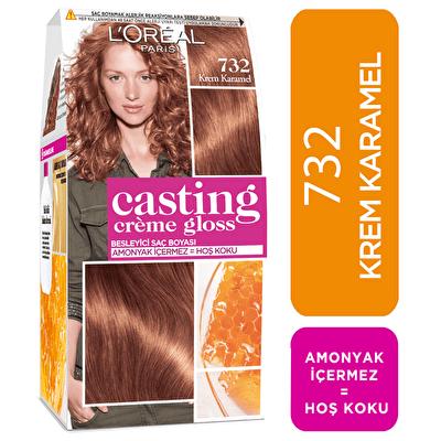 Creme Gloss Saç Boyası Krem Karamel No: 732