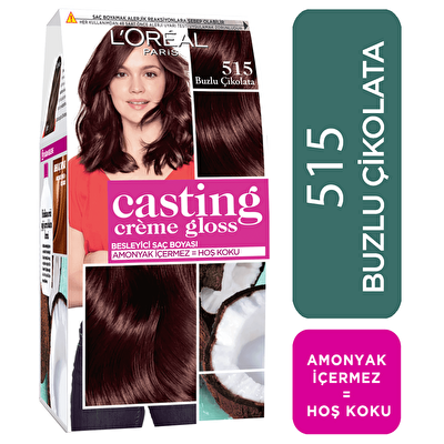 Creme Gloss Saç Boyası Buzlu Çikolata No: 515