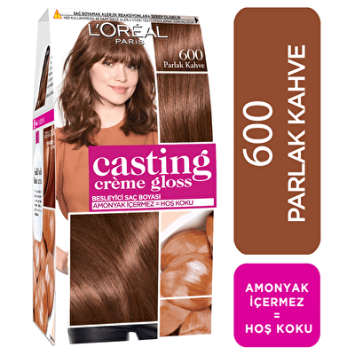 Casting Crème Gloss Saç Boyası - 600 Parlak Kahve