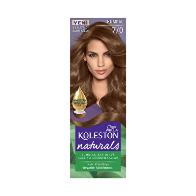 Naturals Kumral Saç Boyası 7/0