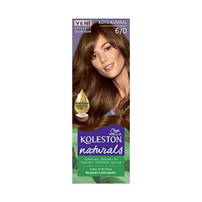 Naturals Koyu Kumral Saç Boyası 6/0