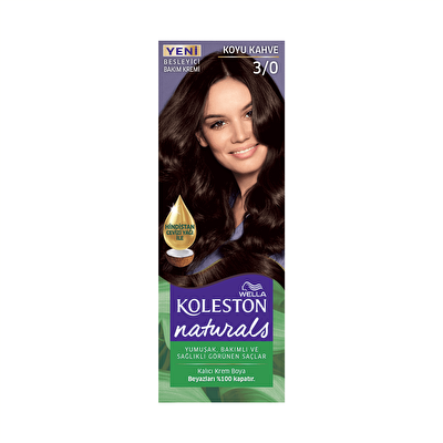 Naturals Koyu Kahve Saç Boyası 3/0
