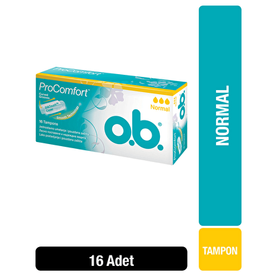 Tampon Normal 16 Adet