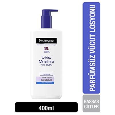 Deep Moisture Vücut Losyonu Hassas Kuru 400 ml