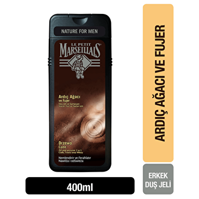 Men Ardıç Ağacı ve Füjer Duş Jeli 400 ml