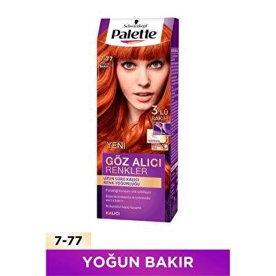 Göz Alıcı Renkler Saç Boyası No. 7-77 Yoğun Bakır