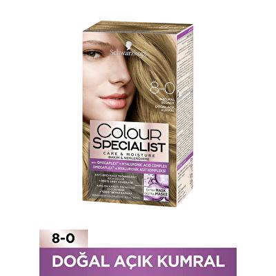 Colour Specialist Saç Boyası 8-0 Doğal Açık Kumral