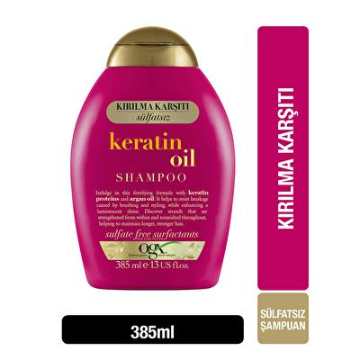 Kırılma Karşıtı Keratin Oil Şampuan 385 ml
