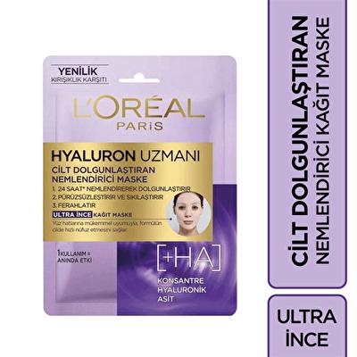 Hyaluron Uzmanı Kağıt Yüz Maskesi 1 Adet
