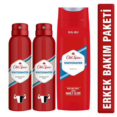 Deodorant 150 ml 2 Adet ve Duş Jeli 400 ml Seti