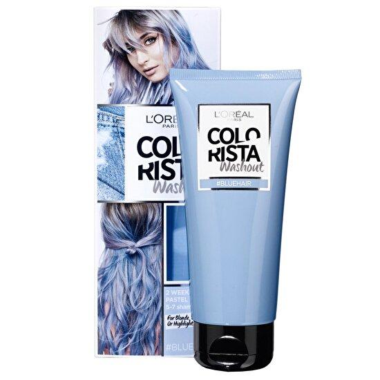resm Geçici Saç Boyası 6 Blue