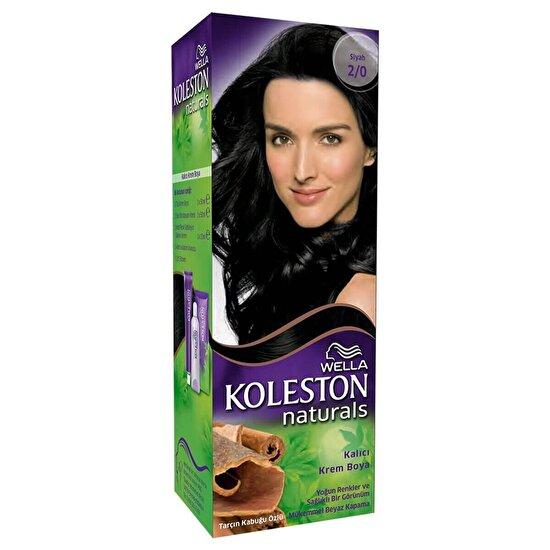 Koleston Naturals Maxi Siyah 2/0