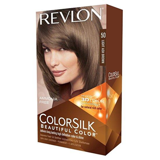 Colorsilk Saç Boyası Açık Küllü Kahve